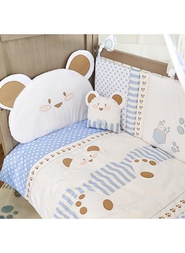 Cute Bear_Boy Uyku Setı 8 Parça (80X140)-Aybibaby